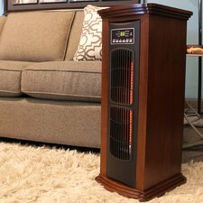 5200 BTU Infrared Tower Electric Space Heater with Remote Control