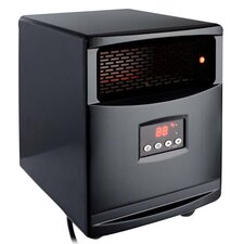 1500 Watt Electric Infrared Space Heater with Remote Control