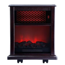 <strong>American Comfort</strong> 1500W Portable Infrared Electric Fireplace