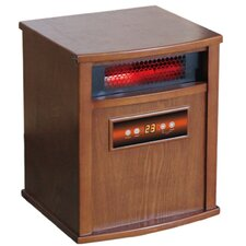 ACW Gold 1,500 Watt Infrared Cabinet Portable Space Heater