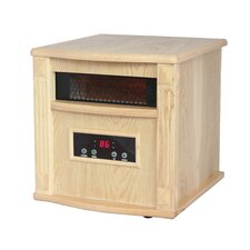 <strong>American Comfort</strong> Gold 1,500 Watt Infrared Cabinet Portable Space Heater