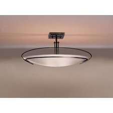 Mackintosh Oval 2 Light Semi Flush Mount