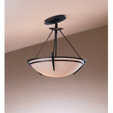 <strong>Hubbardton Forge</strong> Presidio Tryne 2 Light Semi Flush Mount