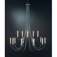 <strong>Hubbardton Forge</strong> 15 Light Chandelier