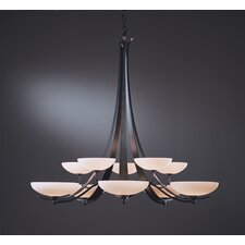 <strong>Hubbardton Forge</strong> Aegis 10 Light Chandelier