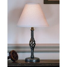"Twist Basket 16.5"" H Table Lamp"