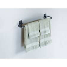 "Wall Mounted 21"" Curved Towel Holder"