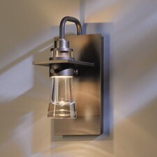 Erlenmeyer 1 Light Small Outdoor Sconce