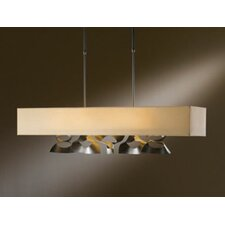 Twofold Rect 4 Light Pendant