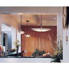 Mackintosh Oval 2 Light Adjustable Pendant