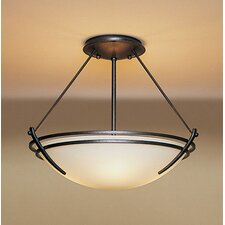 Presidio Medium 2 Light Semi Flush Mount