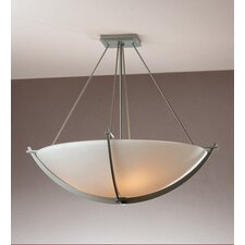 Compass Medium 3 Light Semi Flush Mount