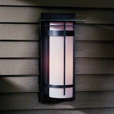 <strong>Hubbardton Forge</strong> Banded 1 Light Outdoor Wall Sconce