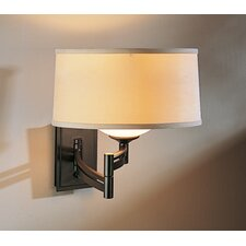 Bowed Right Swing Arm Wall Sconce