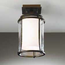 Meridian 1 Light Outdoor Semi Flush Mount