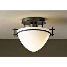 Moonband Small 1 Light Semi Flush Mount