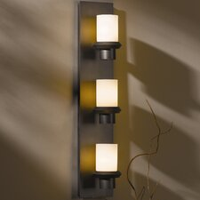 <strong>Hubbardton Forge</strong> Staccato 3 Light Wall Sconce