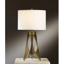 "Moreau 1 Light 20.6"" H Table Lamp with Drum Shade"