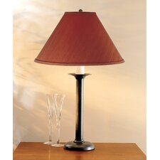 """Simple Lines 18"""" H Table Lamp with Empire Shade"""