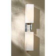 2 light sconce with Opal shade