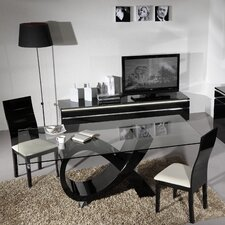 Electra 3 Piece Lacquered Dining Set