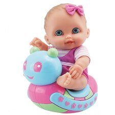 <strong>JC Toys</strong> Lil' Cutesies Caterpillar Rocker Doll