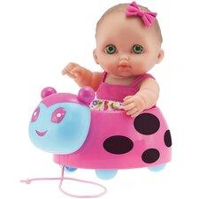 Lil' Cutesies Ladybug Pull  Along Doll