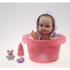 Baby Steps Nursery Doll and Bath Set