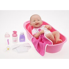Designed By Berenguer Newborn Doll with Deluxe Bath Set