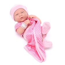 "<strong>JC Toys</strong> 14"" La Newborn (Real Girl!)"