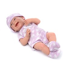 <strong>JC Toys</strong> Berenguer Boutique Newborn Doll with Purple Polka Dot Bodysuit