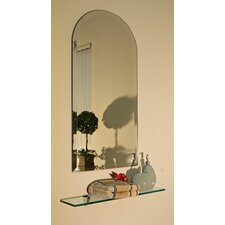 Regency Arch Frameless Mirror