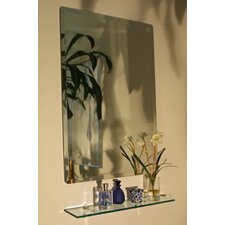 Regency Rectangle Frameless Mirror