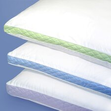 Medium Density 233 Thread-Count Quilted Sidewall Pillow (Set of 2)