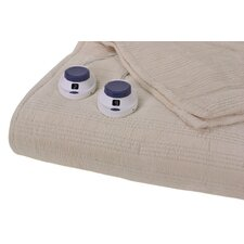 Triple Rib Electric Heated Warming Blanket