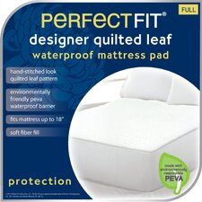<strong>Perfect Fit Industries</strong> Leaf Polyester Waterproof Pad