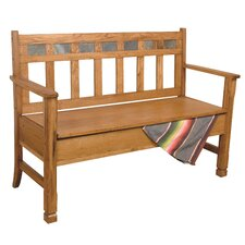 Sedona Wood Storage Bench