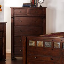 Santa Fe 6 Drawer Lingerie Chest