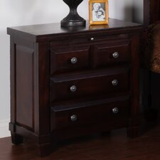 Vineyard 4 Drawer Nightstand
