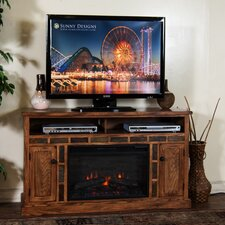 "Sedona 54"" TV Stand with Electric Fireplace"