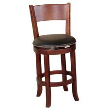 "Cappuccino 24"" Swivel Bar Stool"