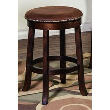 "Santa Fe 24"" Swivel Barstool with Cushion"