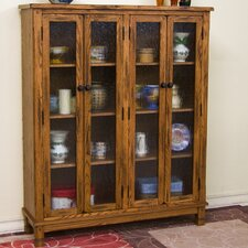 Sedona Large Four Door Bookcase