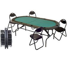 Stow Away Poker Table Set