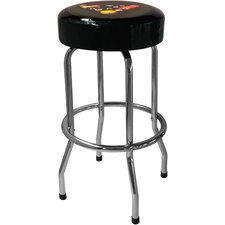 "Pool 29.5"" Backless Chrome Barstool"