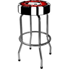 "Poker Chip 29.5"" Bar Stool"