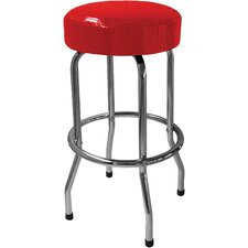 "Solid Red 29.5"" Bar Stool"