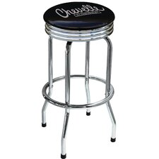 "Chevrolet Chevelle 29.5"" Chrome Swivel Barstool"