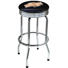 "Chevrolet Bowtie 29.5"" Chrome Swivel Barstool"