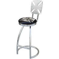"Iron Cross 30"" Swivel Bar Stool"